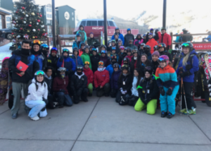SOS Outreach Youth in Ski gear in Park City, Utah