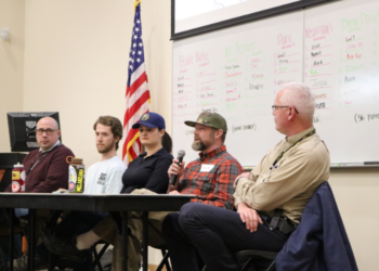 Leadership Panel at an SOS Outreach event