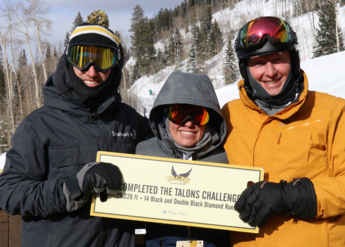 5Logistics Team supporting SOS Outreach on the ski mountain